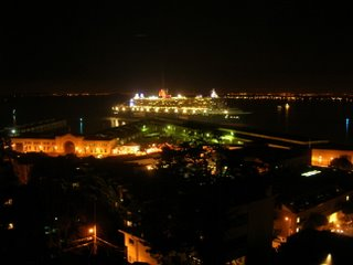 pier 27 evening