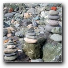 stone piles